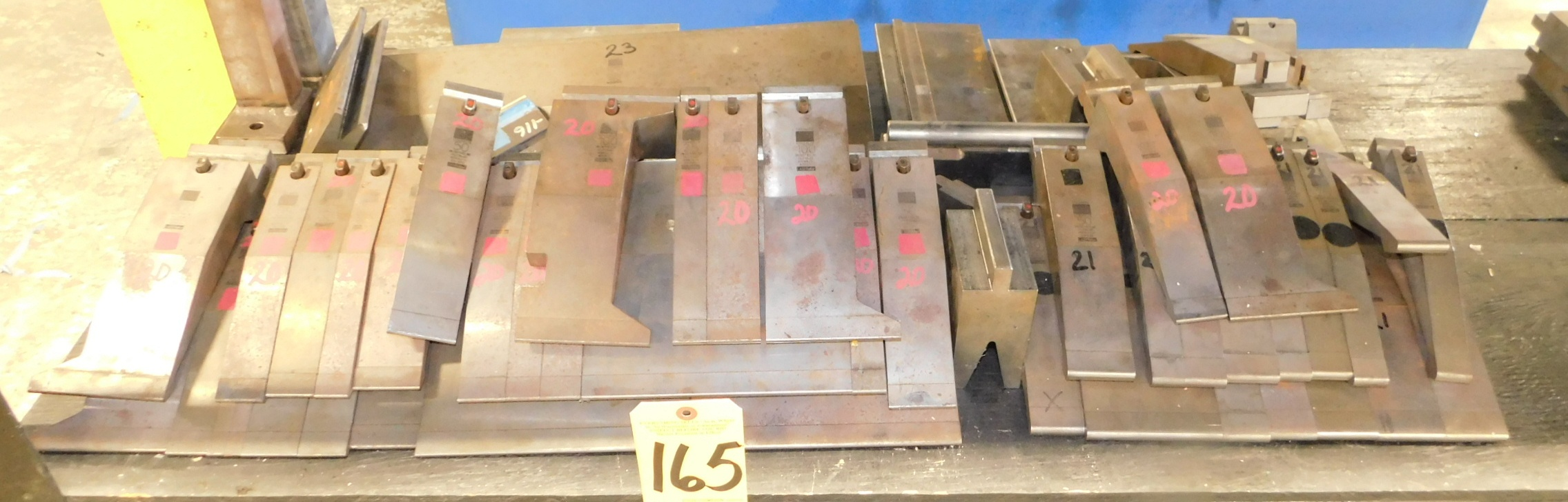 Lot 165 - Trumpf Press Brake Tooling