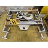 (2) Vestil Model Fork 10 Lifting Hooks, Parts Missing