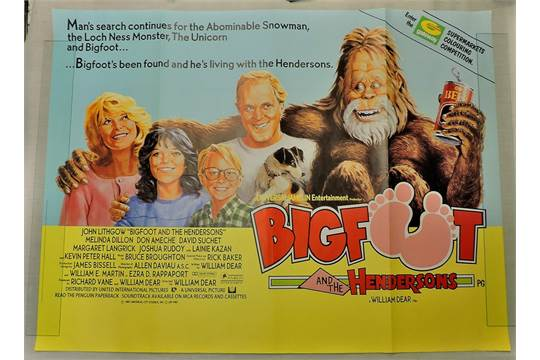 Film Poster: Bigfoot and the Hendersons (1987, original title ...