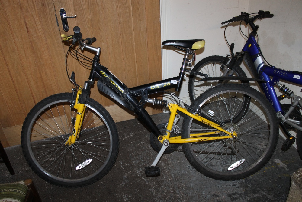 A Dynamix Ds 26 Mountain Bike