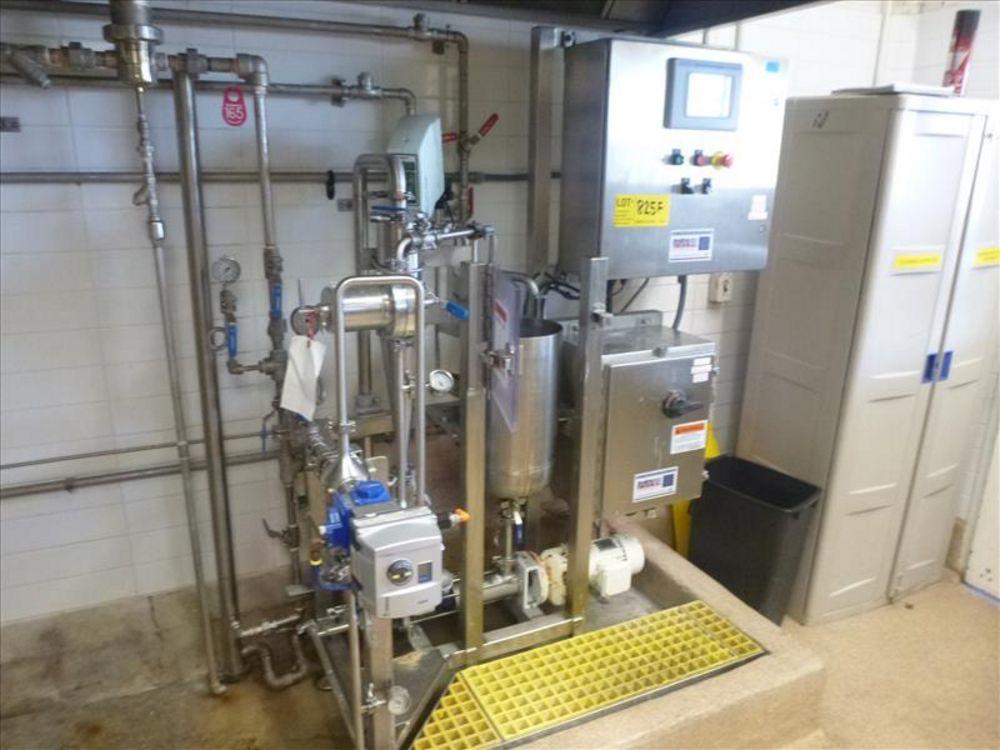Lot 825F - HydroThermal direct steam injection heating system, s/s c/w Lightnin SPXFLOW agitator, AB