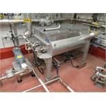 A & M Process Equipment Ltd 150 liters double ribbon blender # 1 mod. no. RBS-3TS ser. no. 404035 18