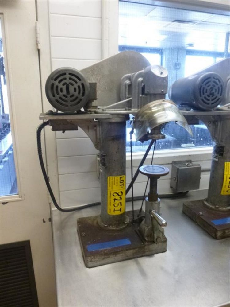 Lot 825I - Rooney's semi-automatic can sealer, mod. 307x409 (2nd Floor, Test Kitchen)