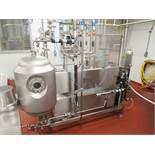 50L Actini #2 test production skid mod. no. N - 2690 soup sterilizer skid, 2. 5 / 13gallons per