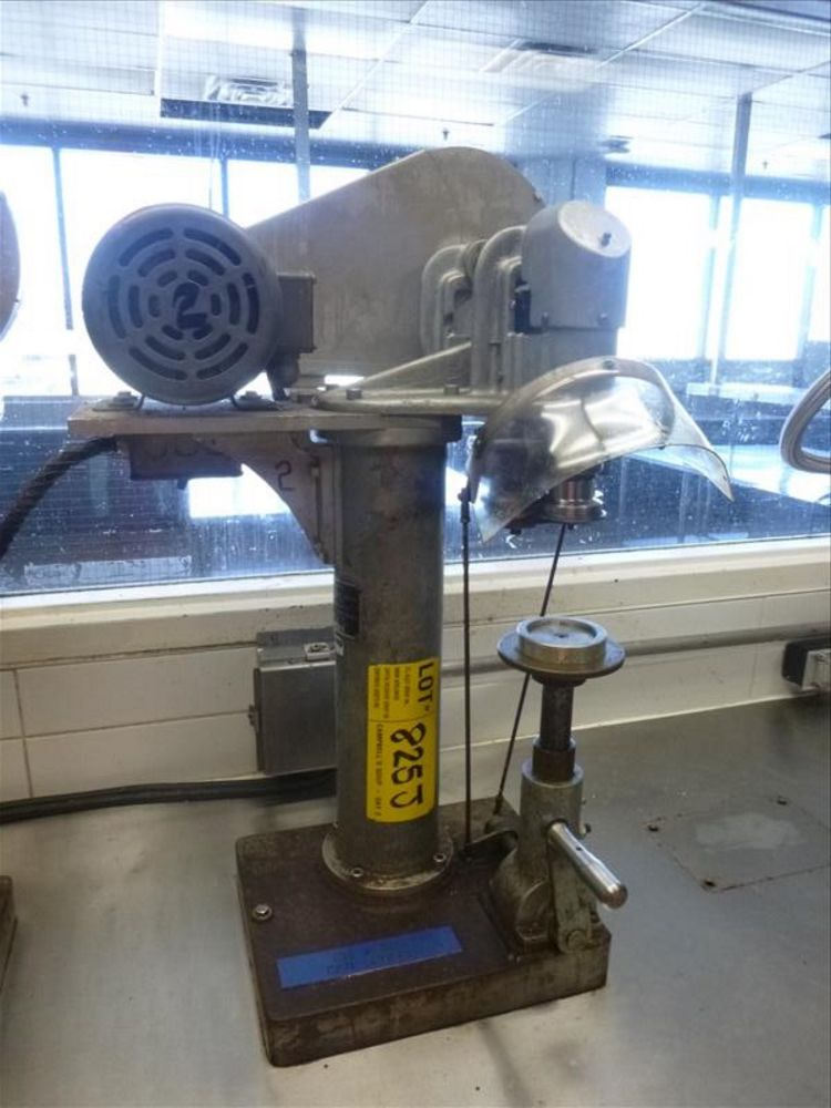 Lot 825J - Rooney's semi-automatic can sealer, mod. 211x315 (2nd Floor, Test Kitchen)