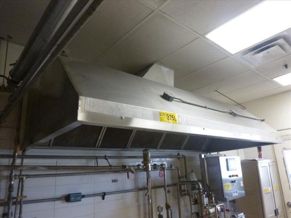 Lot 825G - exhaust hood, s/s (2nd Floor, Test Kitchen)
