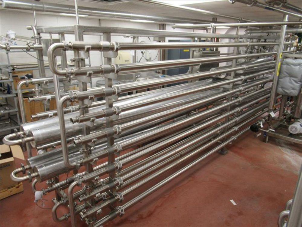 Lot 816 - Advance Process Solution Pilot system sterilizer /HEX 450 skid system include multiple pass