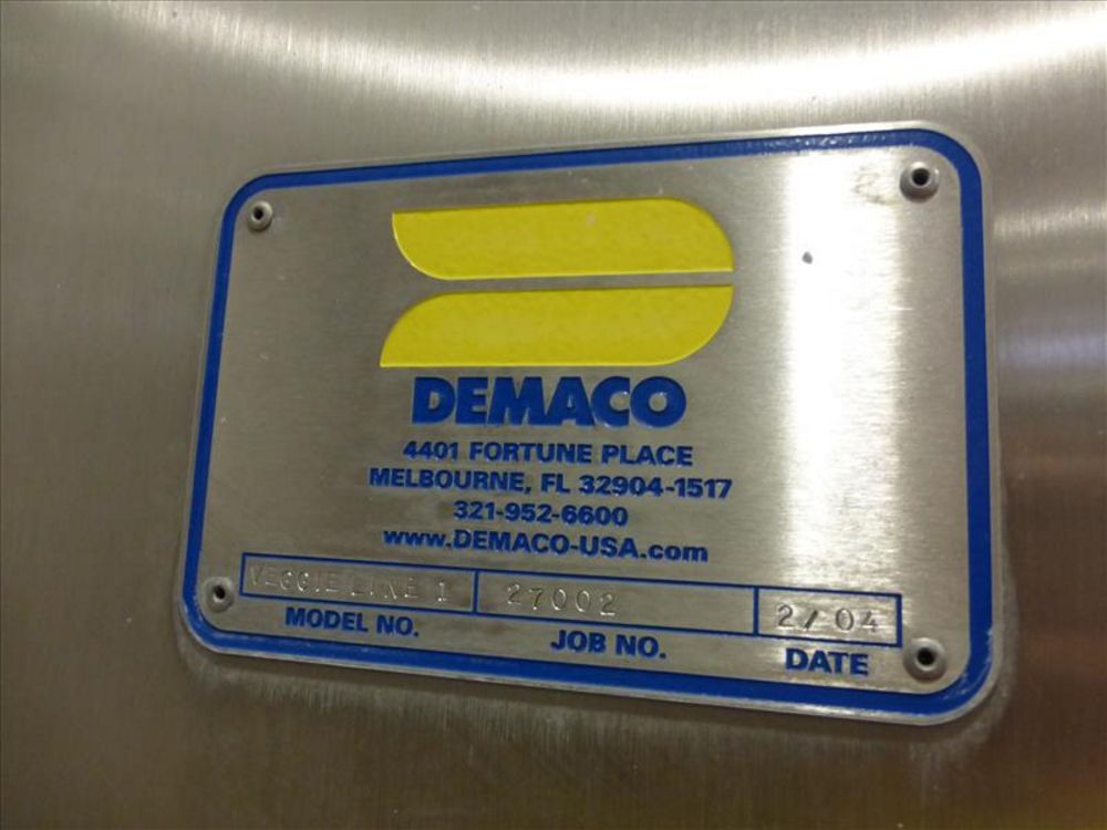 Lot 843 - Demaco breaker dept control panels 3 doors stainless with integrated AB Control Logix processor,