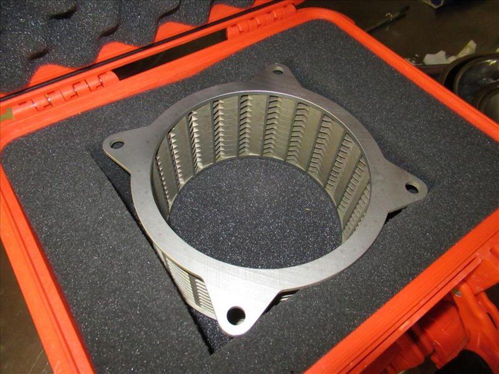 Lot 808 - Urschel 1700 Comitrol processor mod. no. 1700 ser. no. 3426 with 30hp/3540 brake motor, course to