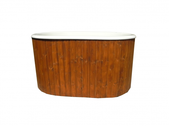 Lot 18024 - V Brand New Ofiru Hot Tub Fibre Glass Shell Hot Tub With Two Internal Benches - Fully Assembled 1.