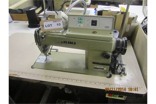 Juki DDL 4040 Flatbed Industrial Sewing Machine Serial No TK402583 Gorgeous Juki Ddl 5550n Industrial Sewing Machine