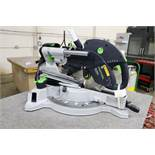 Kapex Festool KS 120 EB Laser Guided Sliding Compound Miter Saw with Extra Saw Blade