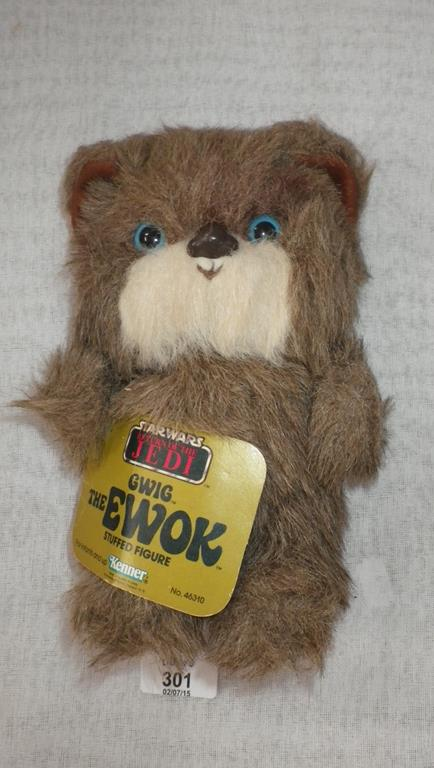 Star Wars A Kenner Quot Return Of The Jedi Quot Stuffed Toy Gwig
