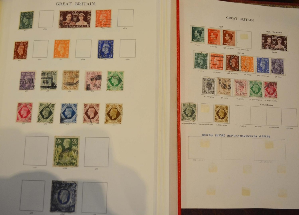 Lot 223 - A Stamp Collection within various albums to include mint and used