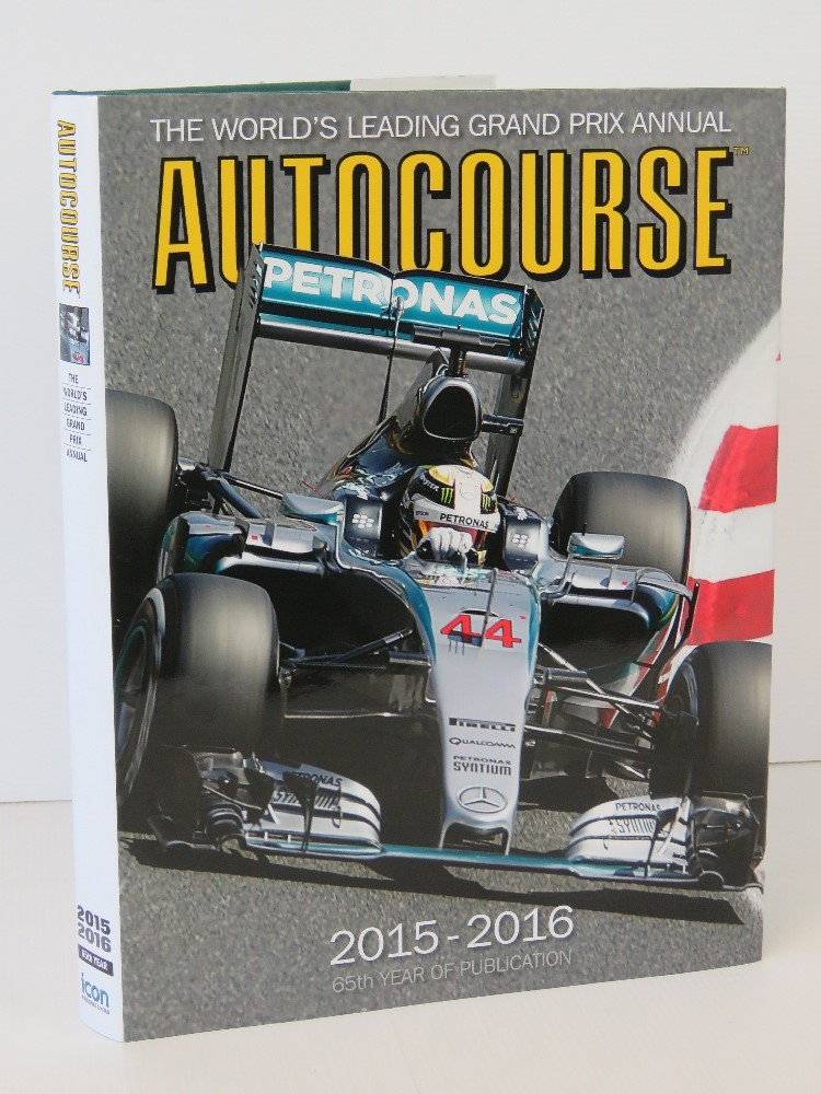 Lot 682 - Autocourse 2015-2016 signed by Lewis Ham