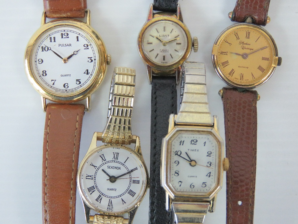 Lot 364 - Five modern ladies watches including Sek