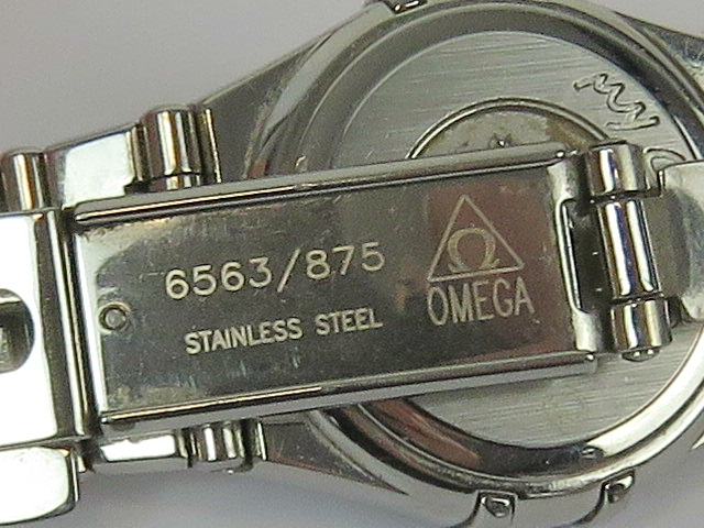 Lot 365 - An Omega Constellation ladies automatic