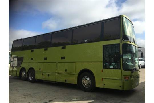1988 VOLVO B10MT GLE VANHOOL BAND BUS WITH MOT UNTIL JULY