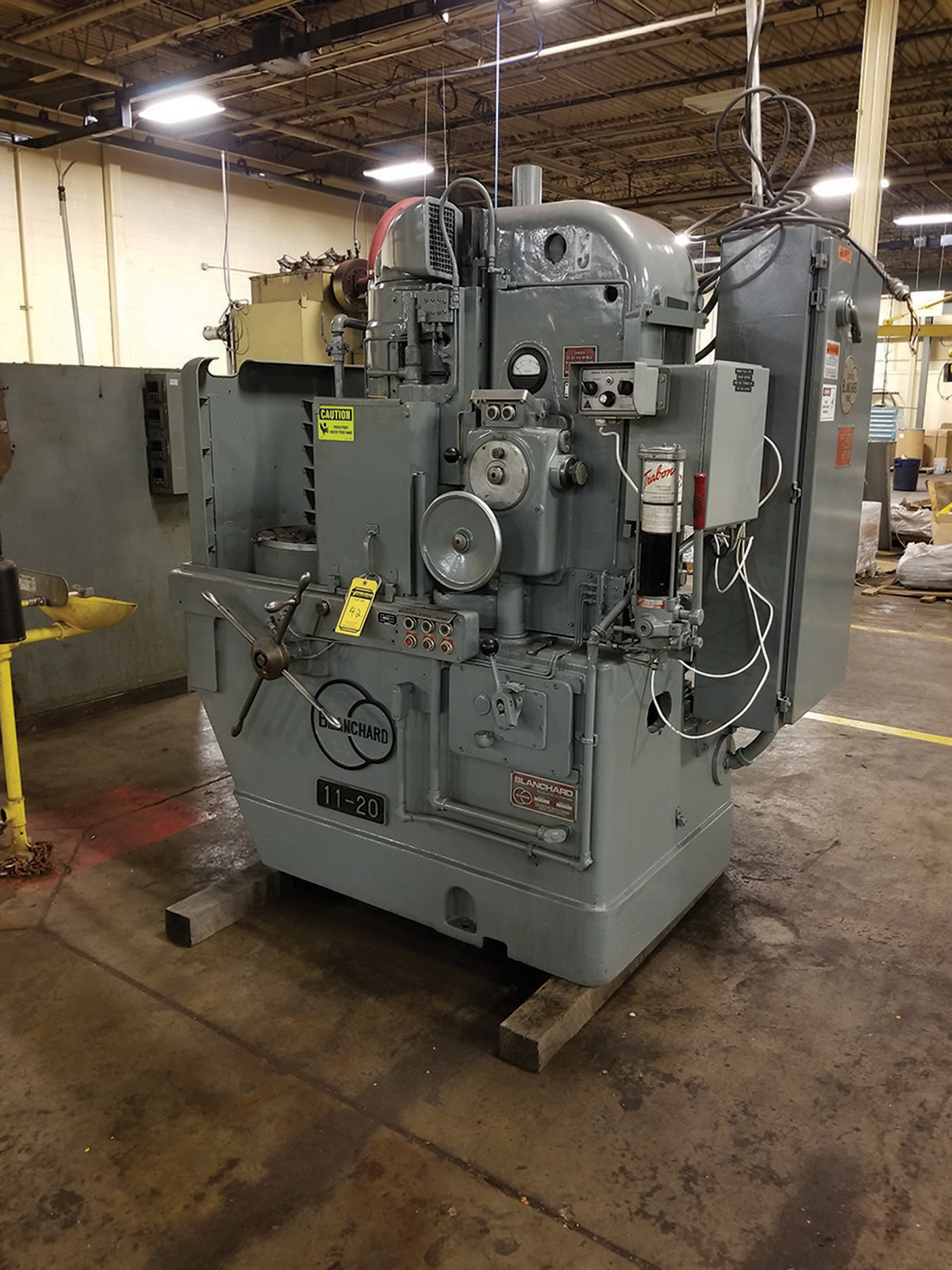 Lot 42 - BLANCHARD 11-20 20'' VERTICAL SPINDLE ROTARY SURFACE GRINDER -MAGNETIC CHUCK CONTROL, REFURBISHED,