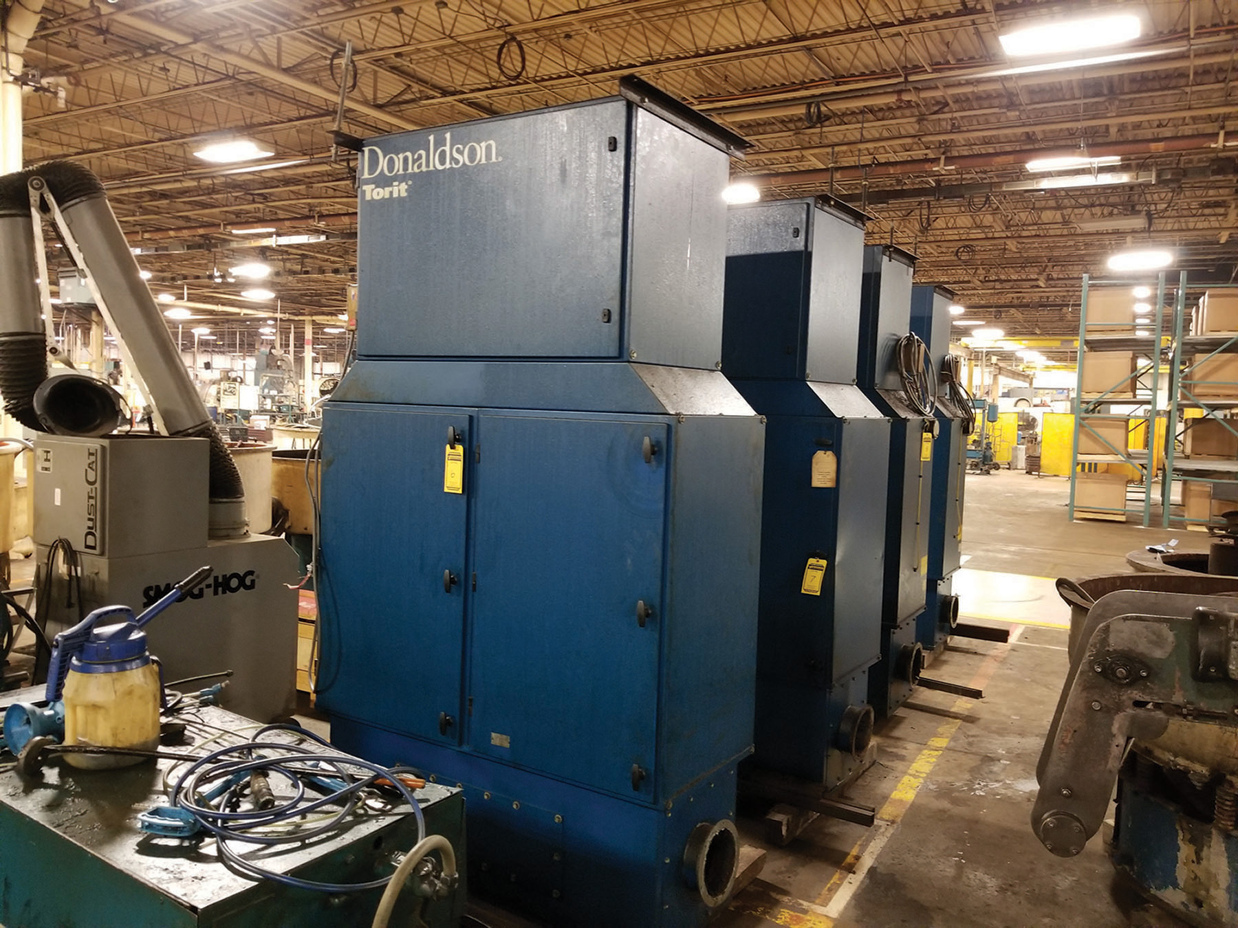 Lot 6 - DONALDSON TORIT MIST COLLECTOR - MODEL MDV- 6000, S/N IG736650, 3 1-HP, 60-CYCLE, 3,450-RPM ***$