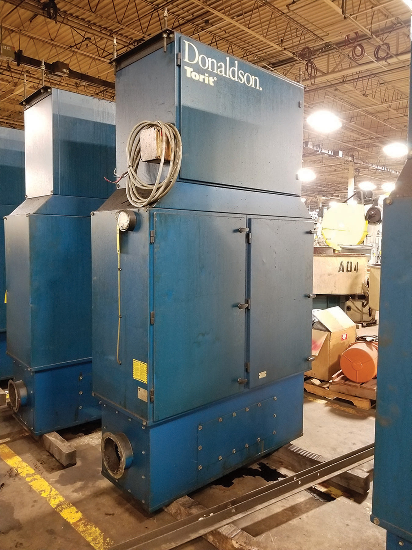 Lot 8 - DONALDSON TORIT MIST COLLECTOR - MODEL MDV- 6000, S/N IG736650, 3 1-HP, 60-CYCLE, 3,450-RPM ***$