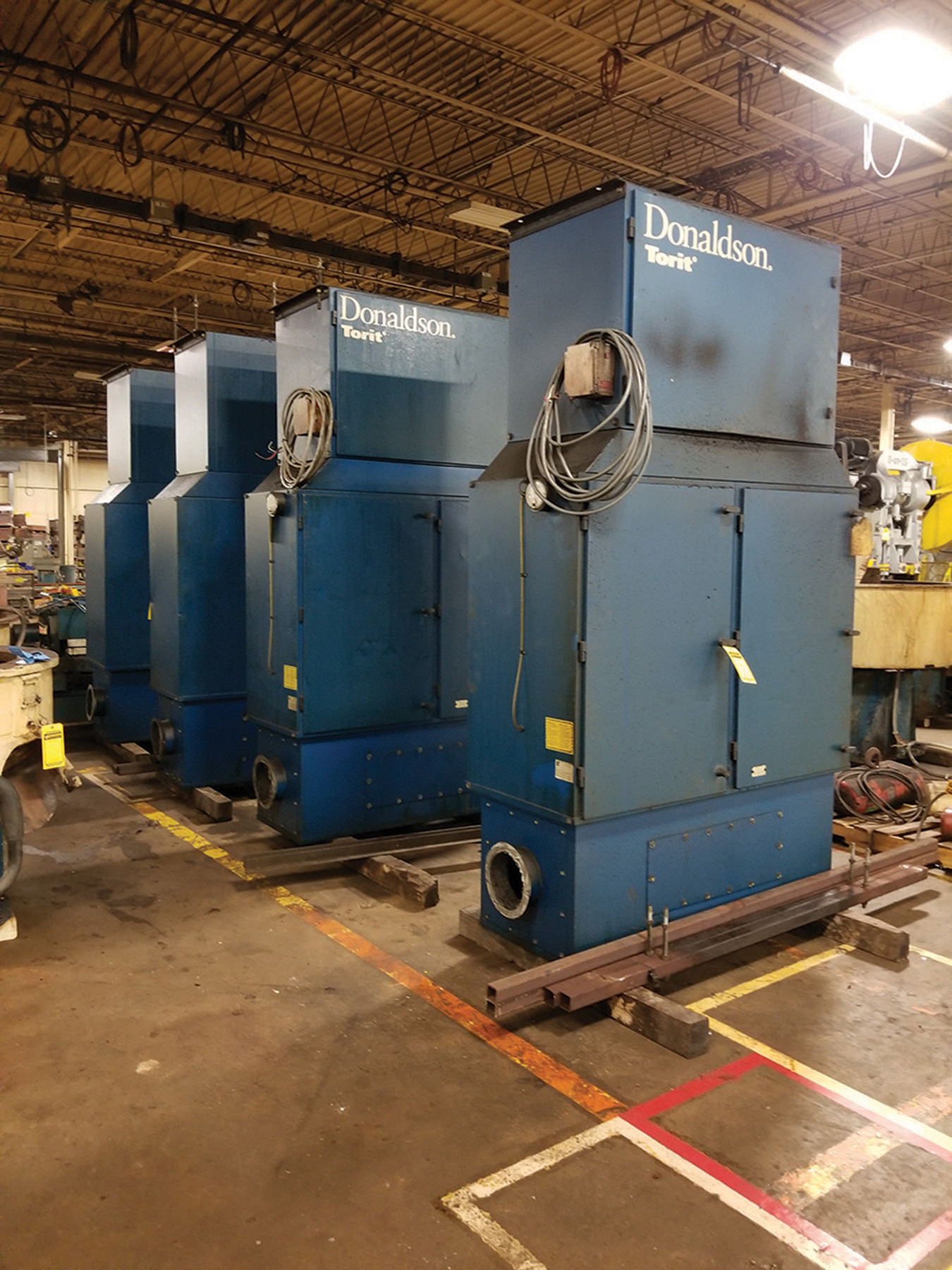 Lot 9 - DONALDSON TORIT MIST COLLECTOR - MODEL MDV- 6000, S/N IG736650, 3 1-HP, 60-CYCLE, 3,450-RPM ***$
