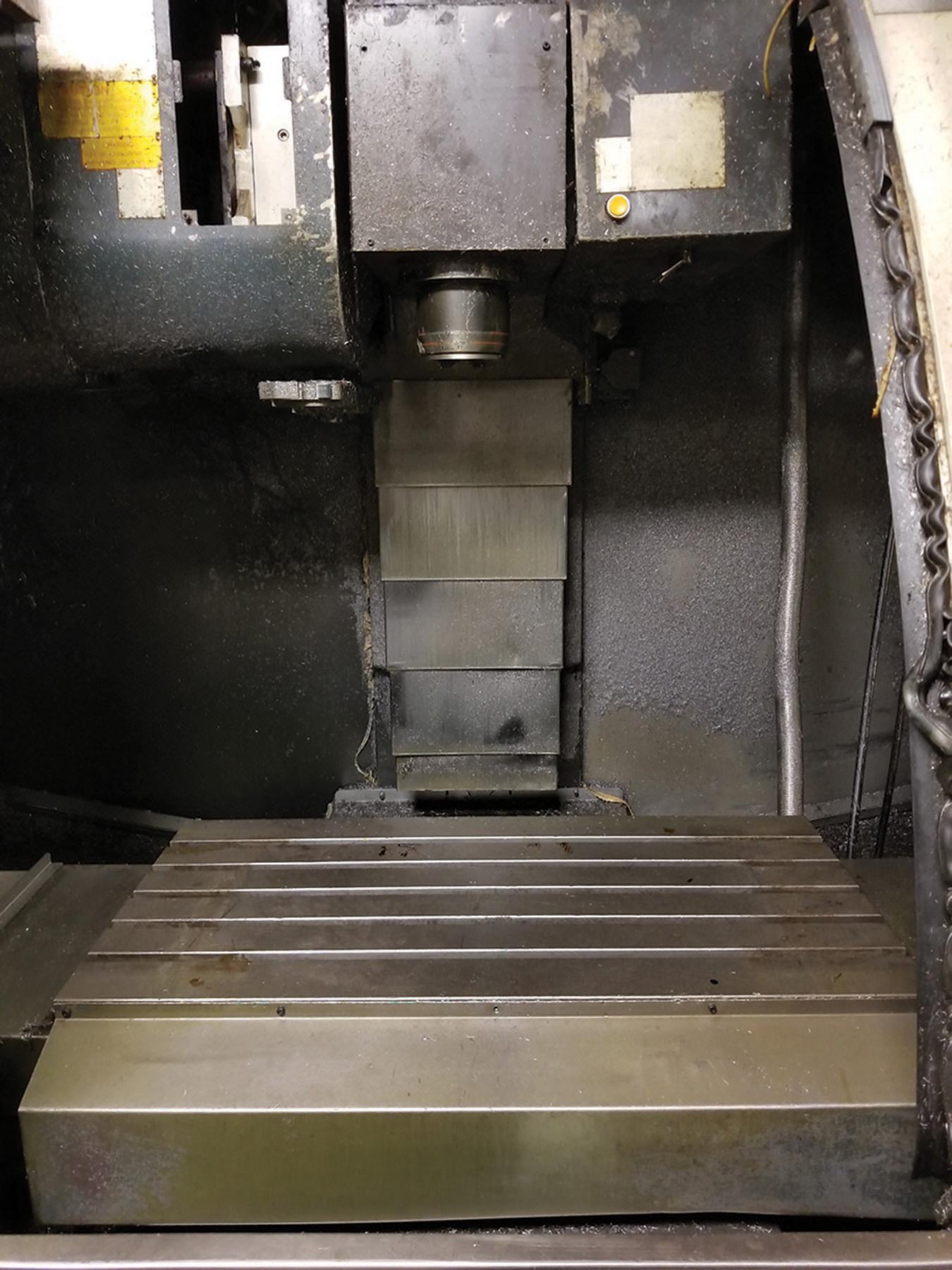 Lot 32 - 2003 JOHNFORD SUPER VERTICAL SV-32 VERTICAL MACHINING CENTER, 4-AXIS, S/N MB2302, 17.5'' X 39.25''