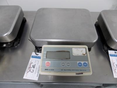 Lot 32 - 150 Lb Capacity Scale   Digital Platform Scale, 150lb. Cap Scale I.D. MM03   MODEL# FG-60KAL  