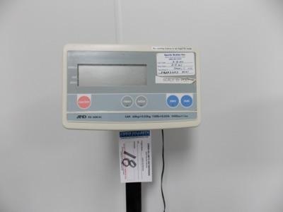 Lot 18 - 150 Lb Capacity Scale | Digital Platform Scale, 150lb. Cap Scale I.D. PC01 | MODEL# FG-60KAL |