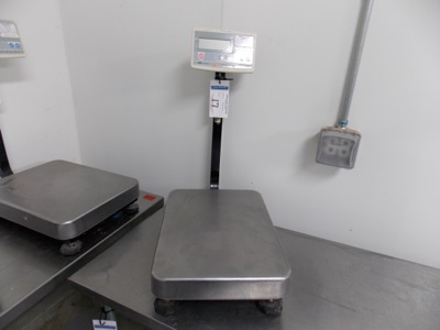 Lot 17 - 150 Lb Capacity Scale   Digital Platform Scale, 150lb. Cap   MODEL# FG-60KAL   SERIAL#