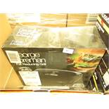 George Foreman fat reducing grill, unchecked and boxed.