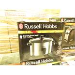 Russell Hobbs Cook @ Home rice cooker, untested and boxed.