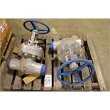 "LOT - (2) VELAN 4"" 600 GATE VALVES"