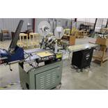 "Kirk-Ruby KR-527 Tabber w/ 12"" x 72"" Auto Stream Belt Conveyor & 3 Stream Feeder Batch Control"