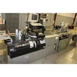 Kirk-Ruby Friction Fed Printer/Tabber w/ Infrared Dryer and 6' Offload Conveyor Model 215-B s/n