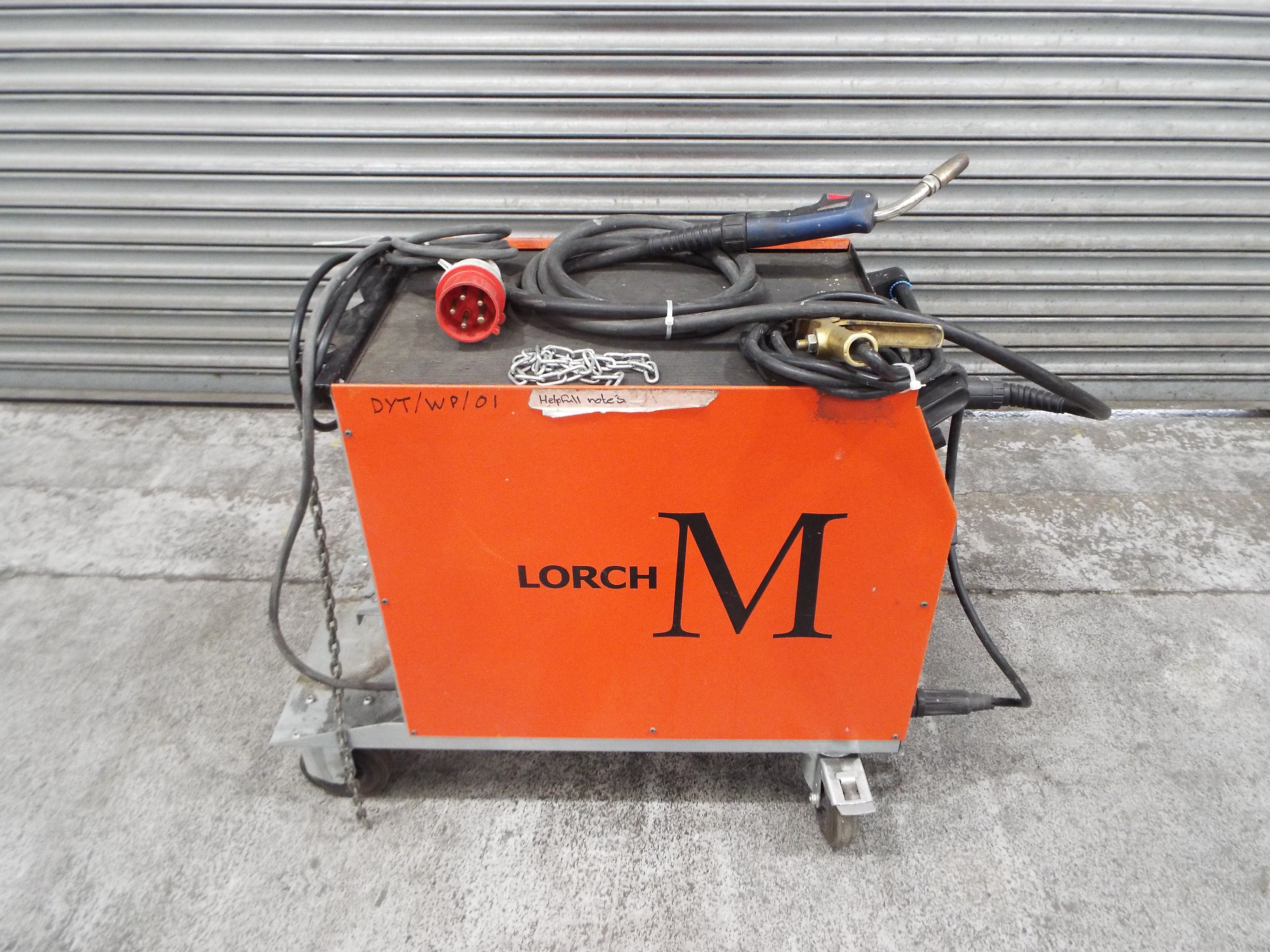 Lot 12 - Lorch M250 Welding Rectifier