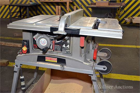 Craftsman 10 jobsite table saw w 4 4hp motor for 10 table saw motor
