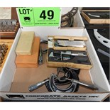 LOT/ OUTSIDE MICROMETERS