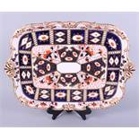 "A Victorian Davenport Imari decorated breakfast tray, 18 1/2"" wide"