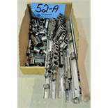 Lot-Mechanic Sockets and Socket Organizers in (1) Box