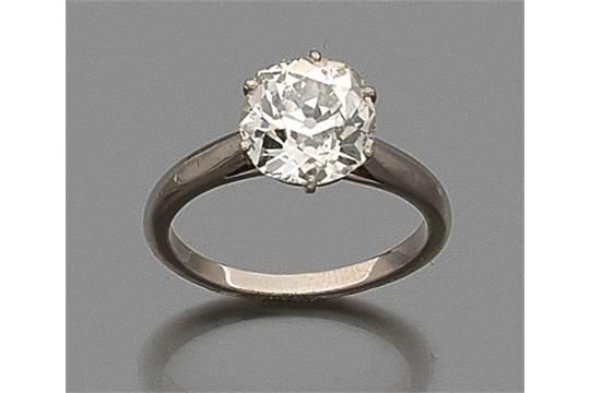 monture bague diamant solitaire