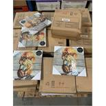 1 LOT TO CONTAIN APPROX 37 AS NEW BOXES OF SQUIRREL CANVASES / APPROX 6 CANVASES PER BOX (PUBLIC