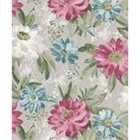 Brand New & Sealed Art Floral Print Wall Paper RRP