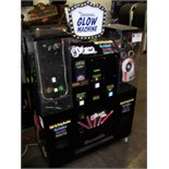 THE ORIGINAL GLOW MACHINE VENDING KIOSK Item is in used condition. Evidence of wear and commercial