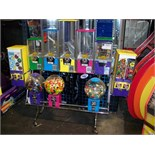 NORTHWESTERN MULTI COLOR SENTINEL BULK RACK Item is in used condition. Evidence of wear and