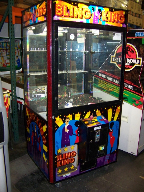 bling king claw machine