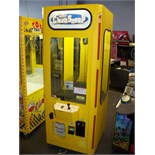 """30"""""""" SMART CLEAN SWEEP YELLOW PLUSH CLAW CRANE Item is in used condition. Evidence of wear and"""