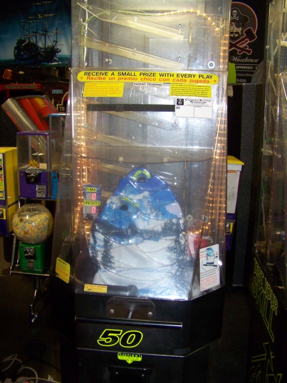 Lot 47 - GRAVITY HILL INSTANT PRIZE REDEMPTION GAME OK MFG. Item is in used condition. Evidence of wear and