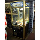 """30"""""""" ELAUT SUMMIT PLUSH CLAW CRANE MACHINE Item is in used condition. Evidence of wear and"""