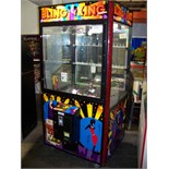 """42"""""""" BLING KING JEWELRY CLAW CRANE MACHINE Item is in used condition. Evidence of wear and"""